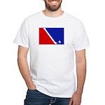 Major League Field Hockey White T-Shirt
