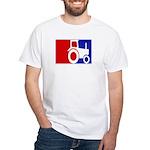 Major League Farmer White T-Shirt