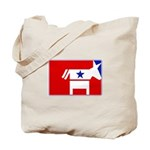 Major League Democrat Tote Bag