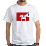 Major League Democrat White T-Shirt