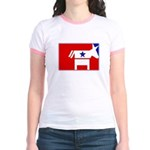 Major League Democrat Jr. Ringer T-Shirt