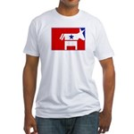 Major League Democrat Fitted T-Shirt