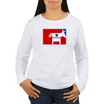 Major League Democrat Women's Long Sleeve T-Shirt