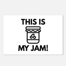 This Is My Jam! Postcards (Package of 8)