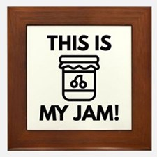 This Is My Jam! Framed Tile