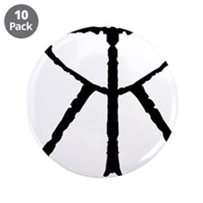 """Cool Eating disorders 3.5"""" Button (10 pack)"""