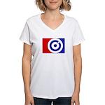 Major League Darts Women's V-Neck T-Shirt
