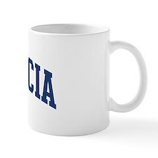 PLACENCIA design (blue) Mug