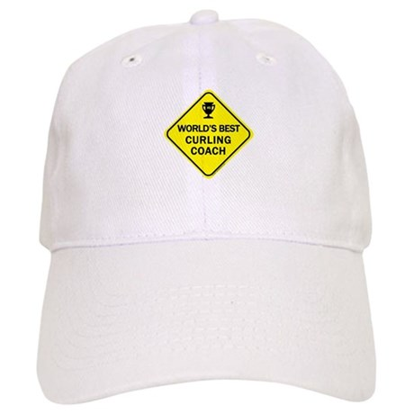 Curling Coach Cap