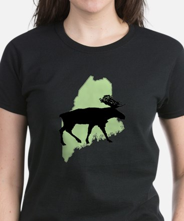 Go Green Maine Moose T-Shirt