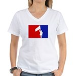Major League Color-Guard Women's V-Neck T-Shirt