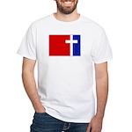 Major League Christianity White T-Shirt