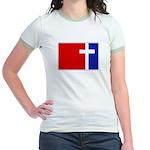 Major League Christianity Jr. Ringer T-Shirt