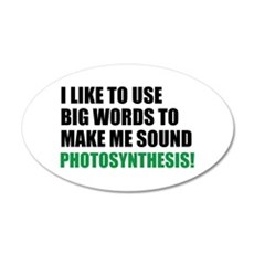 Funny Photosynthesis Wall Decal