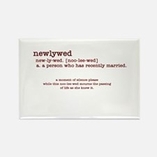 Definition of Newlywed (She) Rectangle Magnet
