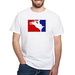 Major League Bullriding White T-Shirt