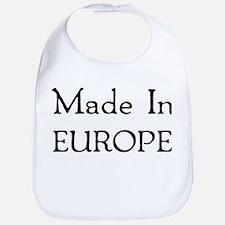 Made In Europea Bib