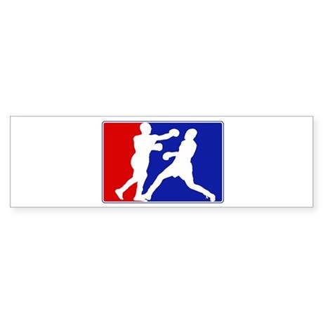 Major League Boxing Bumper Sticker
