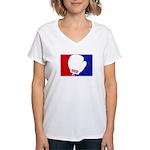 Major League Boxing  Women's V-Neck T-Shirt