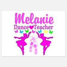 DANCE TEACHER Invitations
