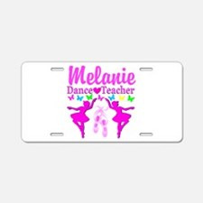 DANCE TEACHER Aluminum License Plate