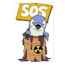 SOS Postcards (Package of 8)