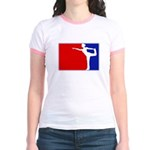 Major League Ballerina Jr. Ringer T-Shirt
