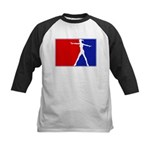 Major League Ballerina  Kids Baseball Jersey