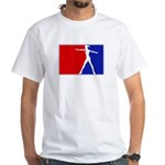 Major League Ballerina White T-Shirt