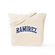 RAMIREZ design (blue) Tote Bag