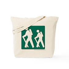 Hiking Sign Tote Bag