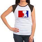 Major League BBQ Women's Cap Sleeve T-Shirt