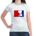 Major League BBQ Jr. Ringer T-Shirt