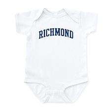 RICHMOND design (blue) Infant Bodysuit