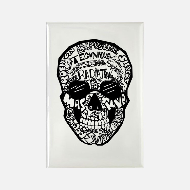 Radiology Terms Skull Magnets