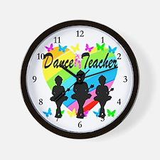 BALLET TEACHER Wall Clock
