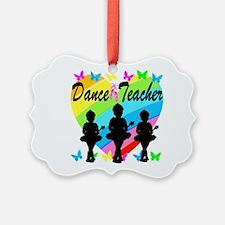 BALLET TEACHER Ornament