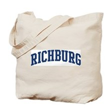 RICHBURG design (blue) Tote Bag