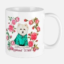 Westie Roses Mugs