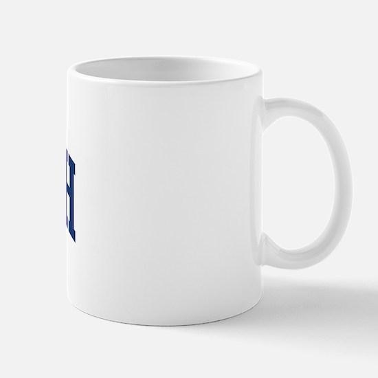 RALEIGH design (blue) Mug
