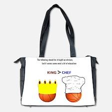 Kings > Chefs. Diaper Bag