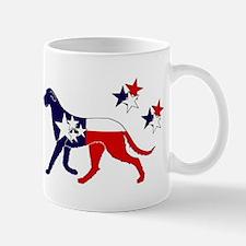 Patriotic Irish Wolfhound Mug