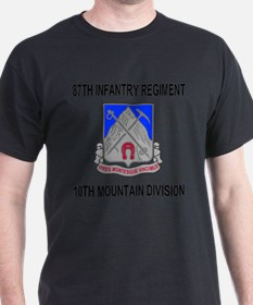 Army-87th-Infantry-Reg-Messenger.gif T-Shirt