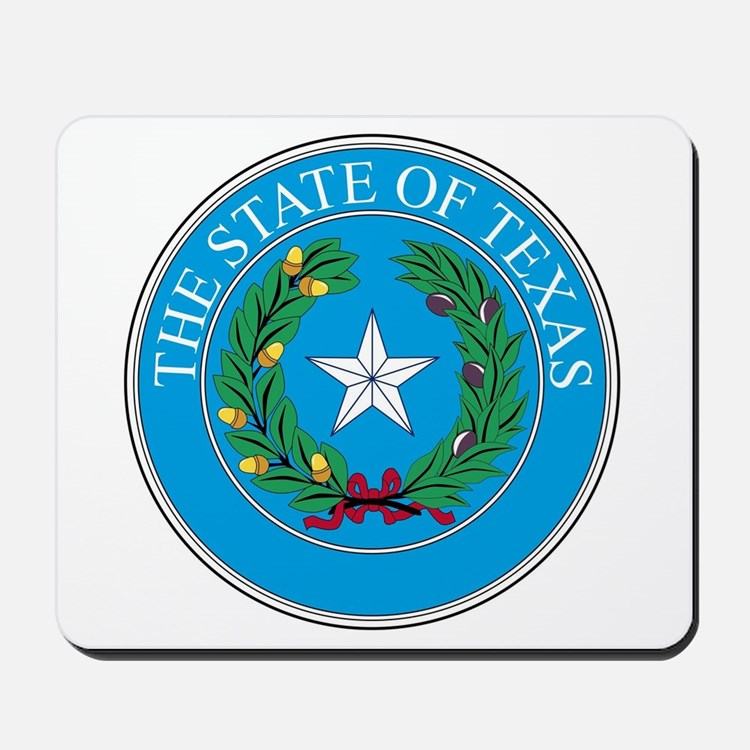 Texas State Seal Mousepad