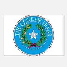 Texas State Seal Postcards (Package of 8)