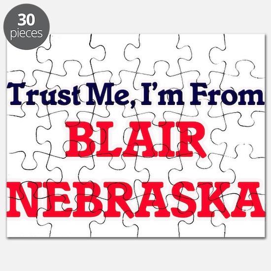 Trust Me, I'm from Blair Nebraska Puzzle