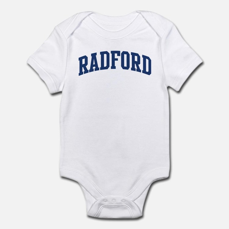 RADFORD design (blue) Infant Bodysuit
