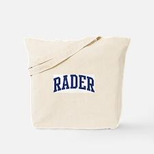 RADER design (blue) Tote Bag