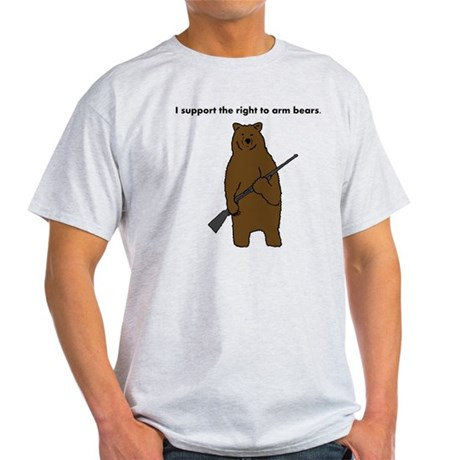 Right to Arm Bears Light T-Shirt