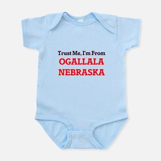 Trust Me, I'm from Ogallala Nebraska Body Suit